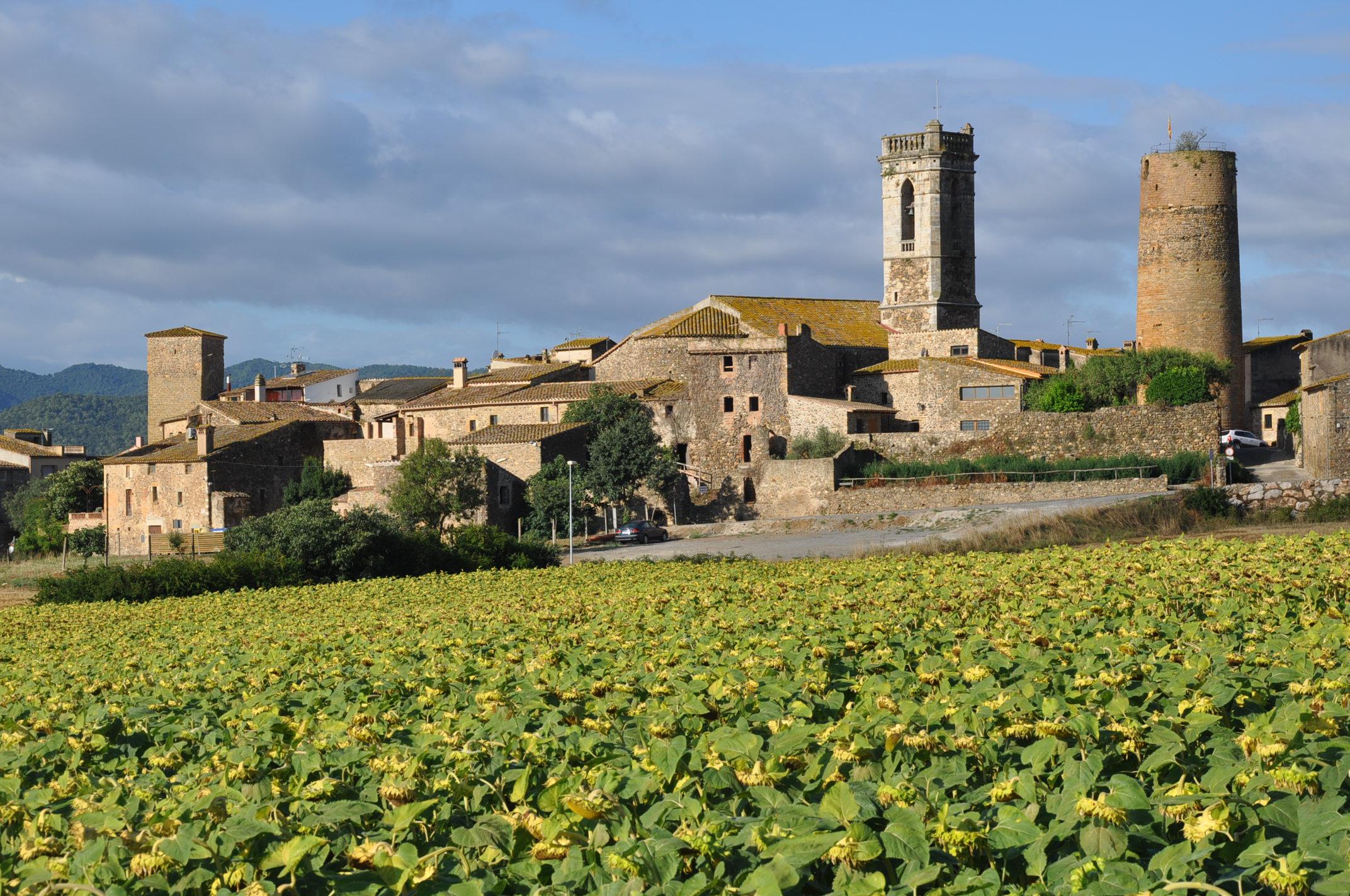 The medieval villages of Baix Empordà