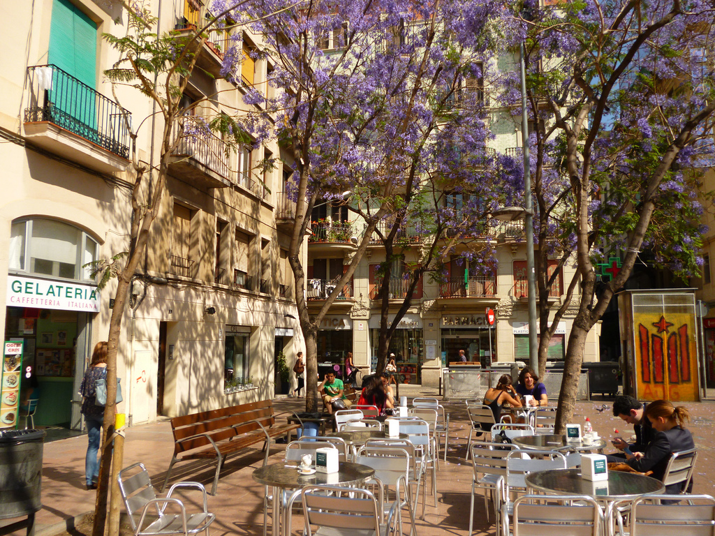 The best of the Gracia neighborhood for your audiovisual project in Barcelona