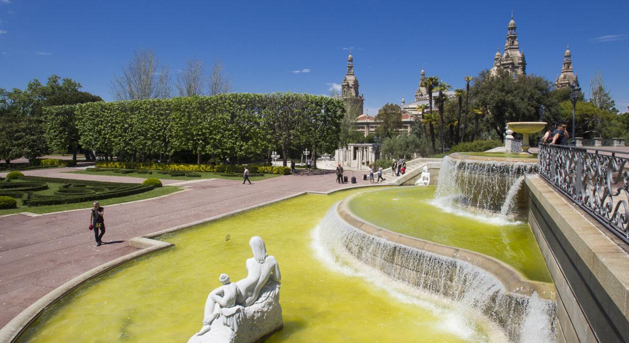 Jardines Joan Maragall y Palauet Albéniz