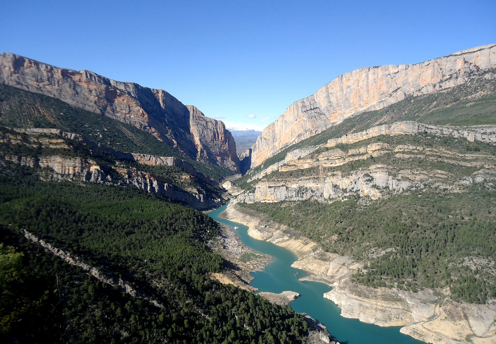 The Congost de Mont-rebei, a beautiful natural setting in Catalonia