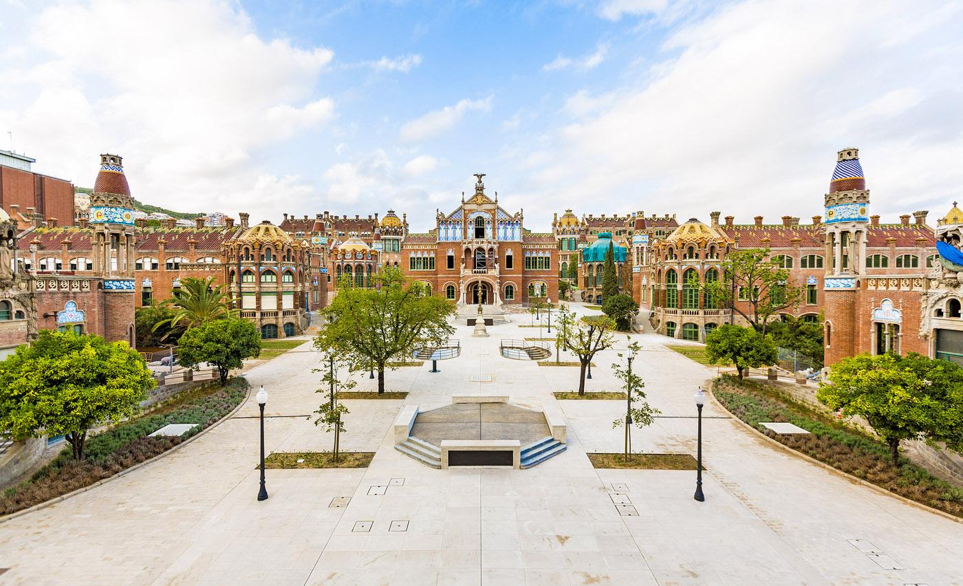 Discover the Recinto Modernista complex of Sant Pau in Barcelona