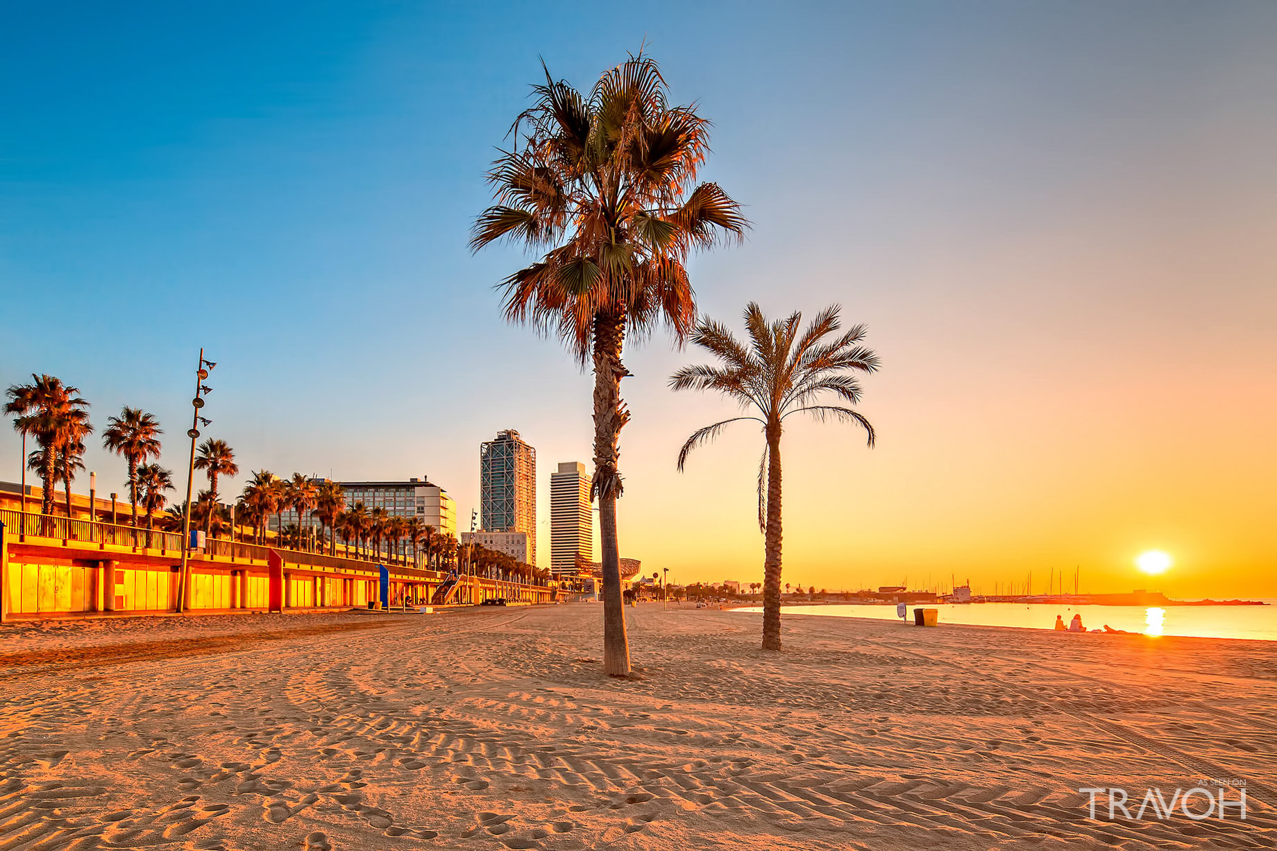 Barcelona and the sea for your audiovisual production