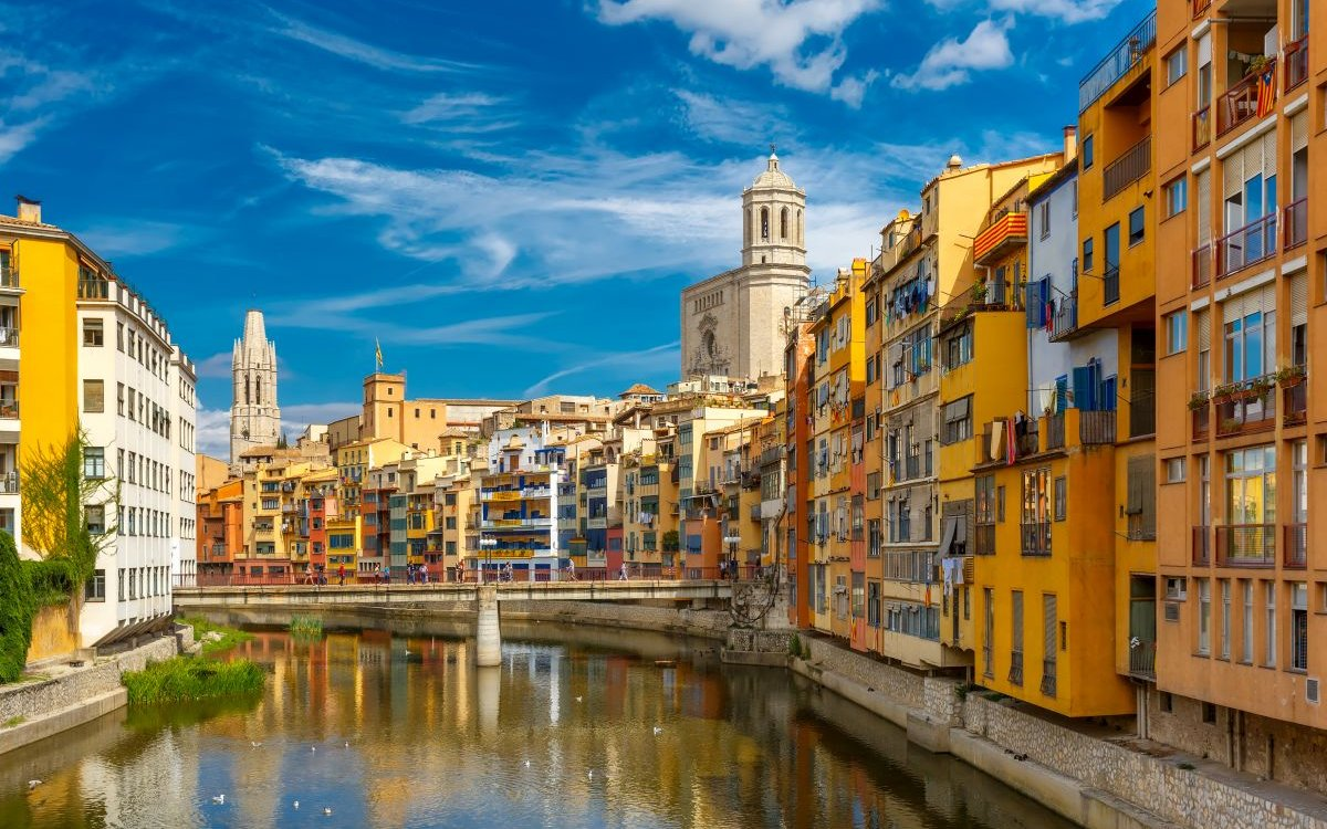 A trip through the history of Girona for your audiovisual production